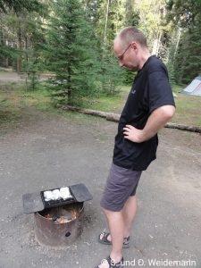 Der Mann und das Feuer