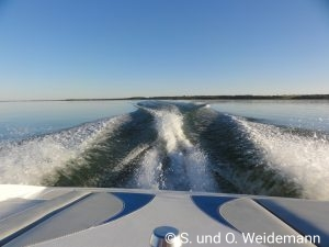 Boat ride auf dem Gull Lake