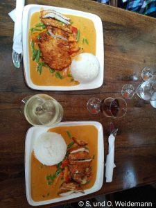 Es geht doch nichts über die südostasiatische Küche - heute beim Thai