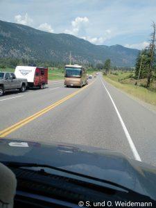 Fettes Wohnmobil von vorne - kein Reisebus!