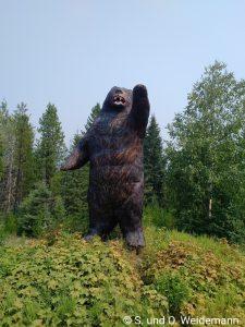 Ein riesiger Bär!