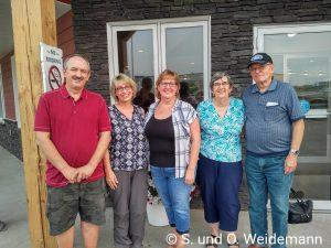 Leslie, Susanne, Sandra, Hilda und Alfred