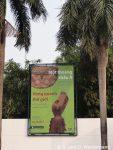 Tafel vor dem ethnologischen Museum