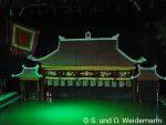 Die Bühne des Wasserpuppentheaters