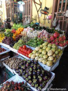 Lecker Obst und Gemüse