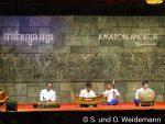 """traditionelle Tanzdarbietung im """"Amazon Angkor"""" - die Musiker"""