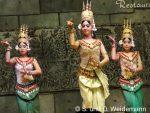 "traditionelle Tanzdarbietung im ""Amazon Angkor"""