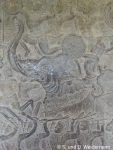 Reliefs in Ankor Wat